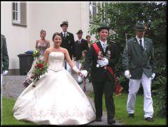 Schützenkönigspaar 2006/2007 Karsten und Sandra Nübel